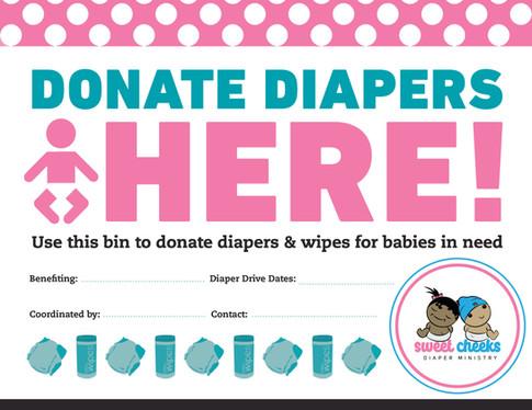 SCDM Diaper Donation Flyer