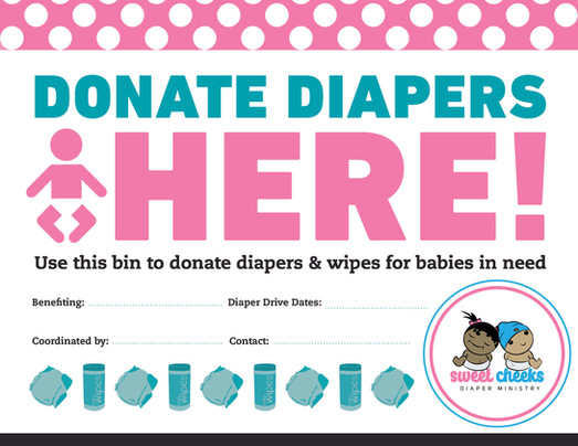 SCDM Diaper Donation Flyer