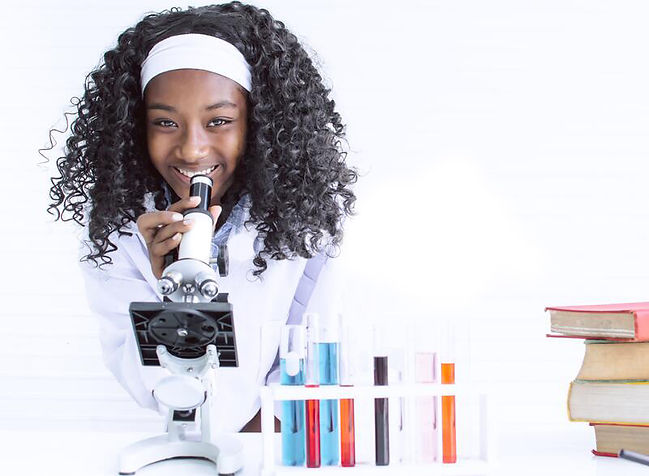african-girl-studying-science-classroom-