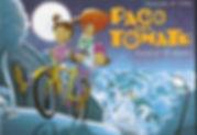 Paco del Tomate pasea en bici por el Barrio de Inventores.