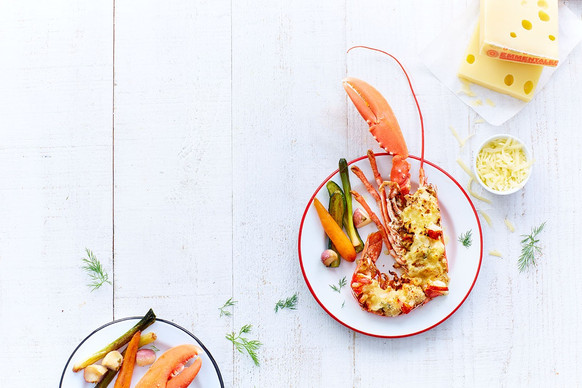 Homard au fromage