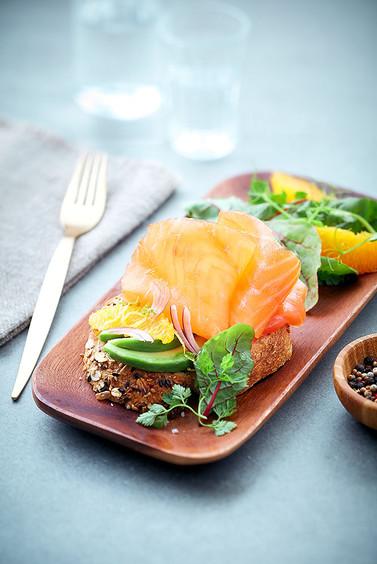 Tartine Saumon fumé - Avocat