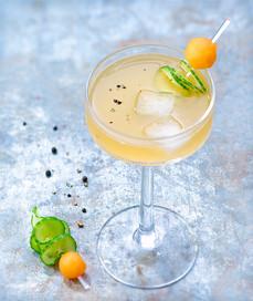 Cocktail Melon et Concombre