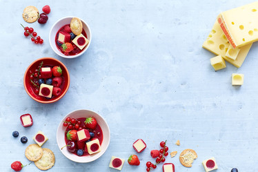 Salade Fruits Rouges-Fromage