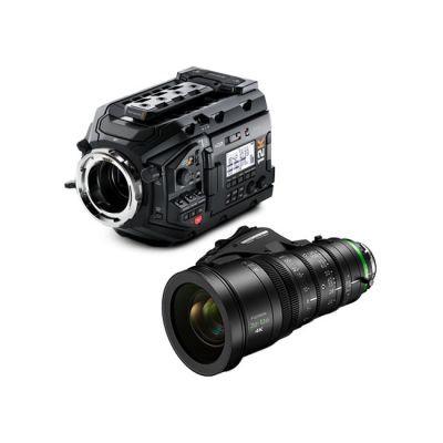 Blackmagic Design URSA Mini Pro 12K & Fujinon XK6X20 Lens Bundle