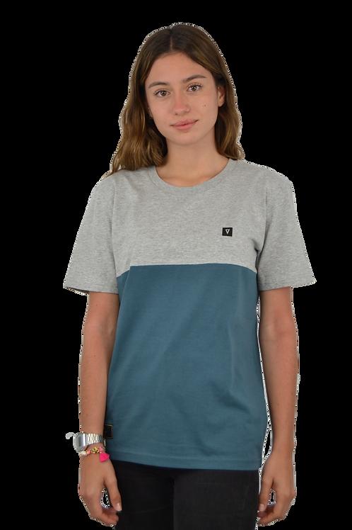 Camiseta CUSTOM · Grey & Blue