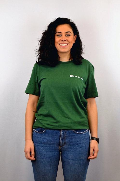 Camiseta CROSS · Bottle Green · Unisex