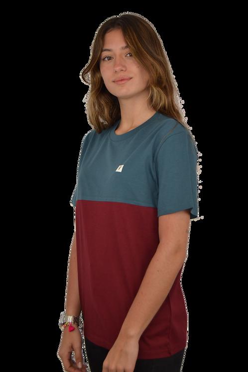 Camiseta CUSTOM · Blue & Garnet