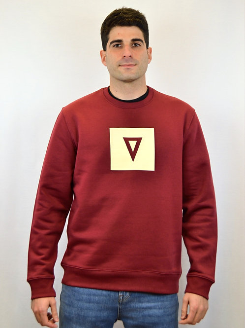 Sudadera SYMBOL · Heather Burgundy