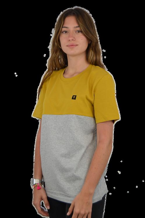 Camiseta CUSTOM · Ochre & Grey