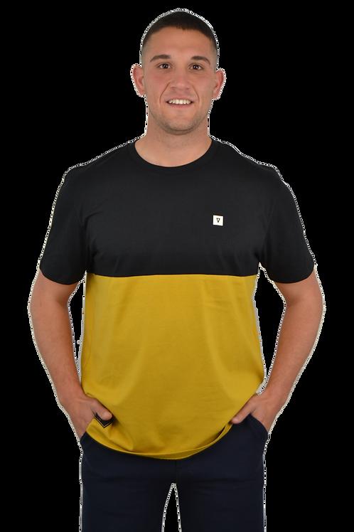 Camiseta CUSTOM · Black & Ochre