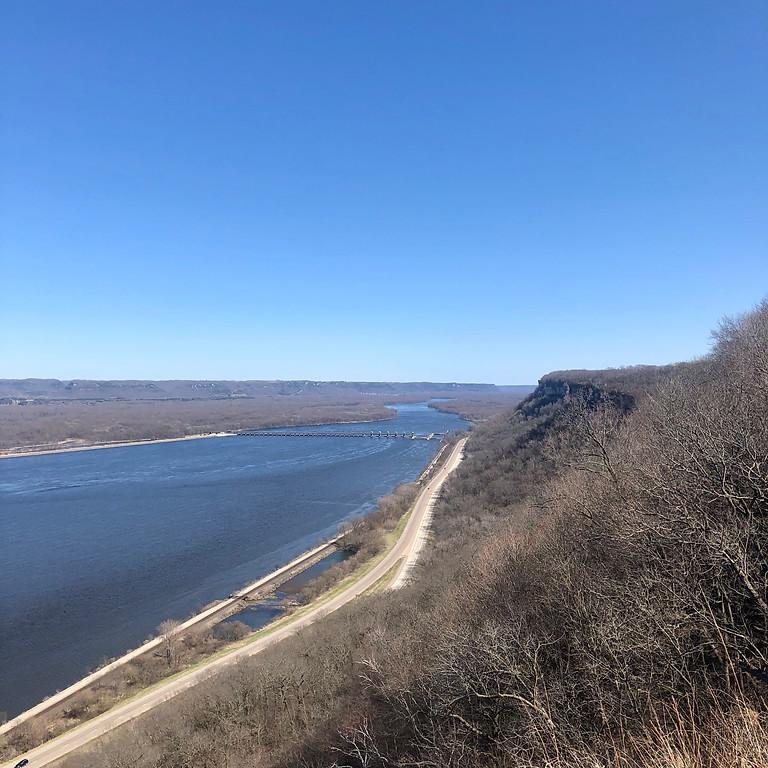 Storm the River Bluffs - John Latsch State Park Stairs