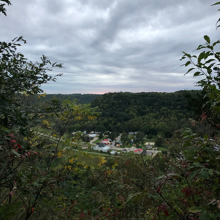 Storm the River Bluffs - Elba Fire Tower Stairs
