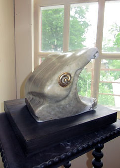 A picture of a stone sculpture.
