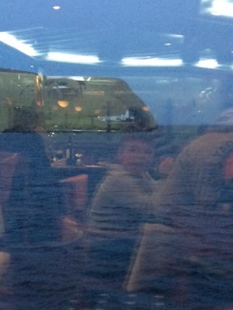 Leaving Shetland