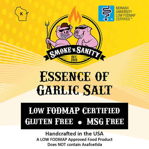 Essence of Garlic Salt - Low FODMAP Certified
