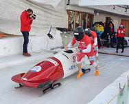 Marc Meile und Roman Wägeli belegen an der Schweizermeisterschaft den hervorragenden 8 Rang und klassieren sich als erstes Team hinter den Kader Athleten von Swiss Sliding