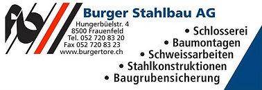 Burger Stahlbau AG