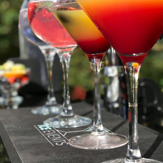 We can provide an extremely wide range of soft drinks, beers, wines, cocktails, gins and spirits. Locally grown fruit and garnishes, bar snacks, ice, napkins and glassware are all included as well.