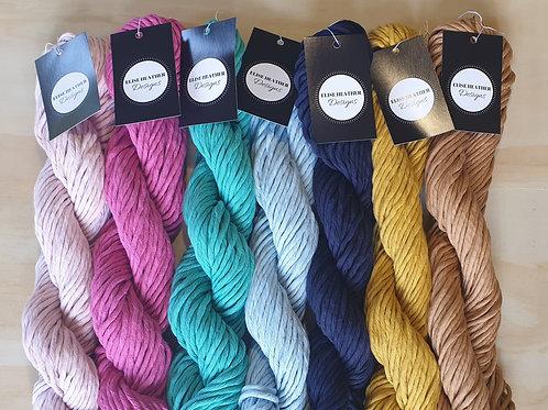 50m Coloured Cotton Macrame Cord 4mm