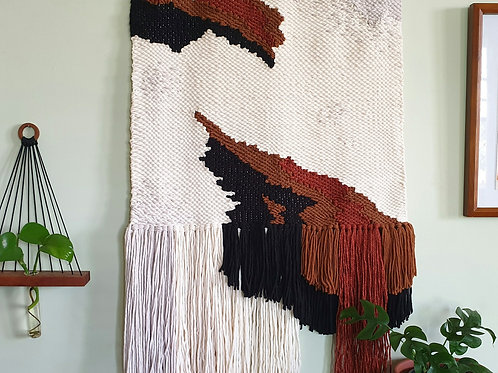 The Great Divide - Woven Wall Hanging