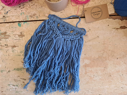Small Blue Wall Hanging
