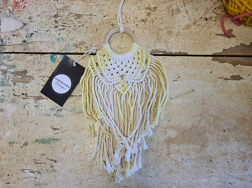 Turmeric Dyed Wall Hanging 1