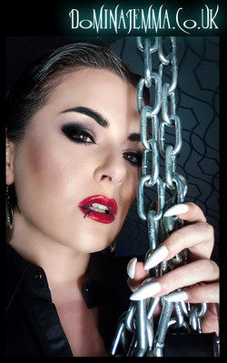 I want you in chains...