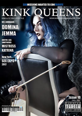 Domina Jemma Kink Queens Magazine Fall Issue 10