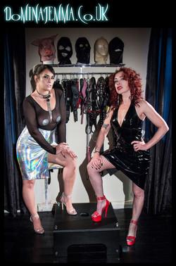 Domina Jemma & Mistress Julia Taylor