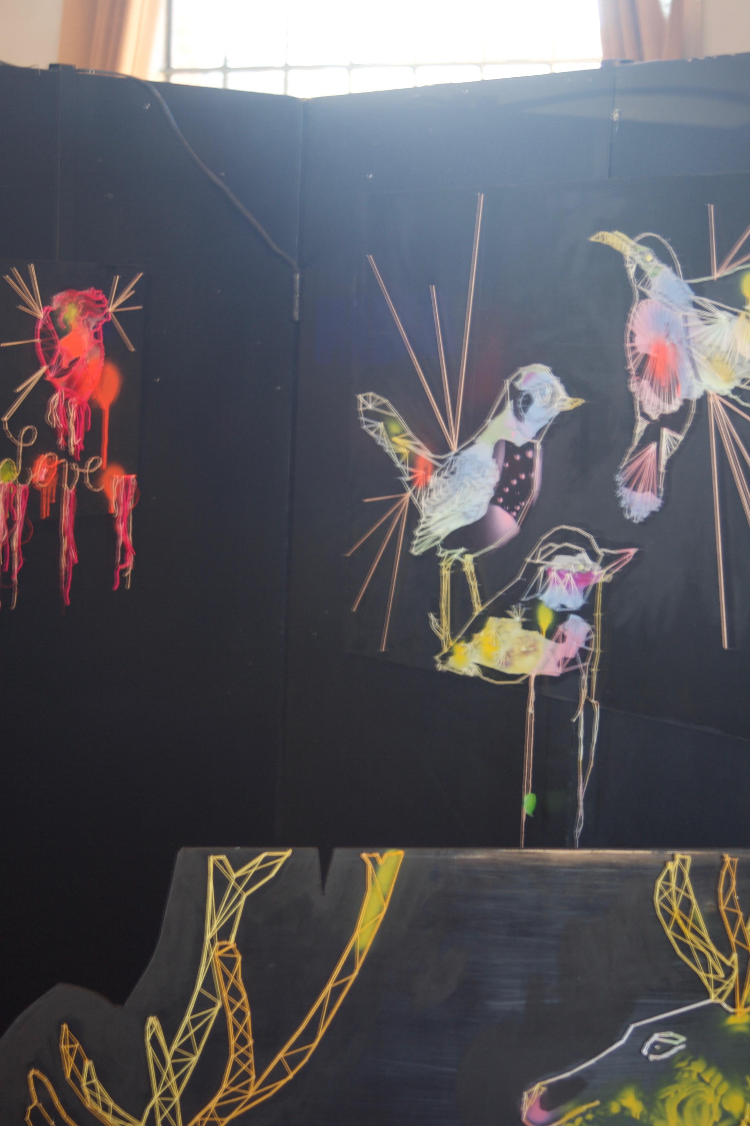 installation de Adélaïde Klein