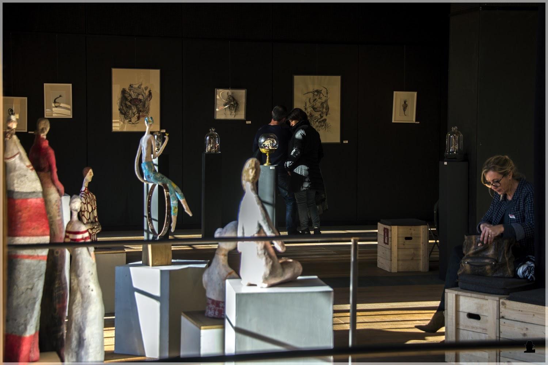 présentation salle d'expo du musée