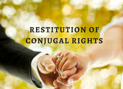 CONSTITUTIONAL VALIDITY OF RESTITUTION OF CONJUGAL RIGHTS
