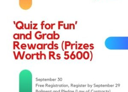 Free Quizzing on Bailment and Pledge: Register by Sep 29 (Prizes worth Rs 5600 & More!)