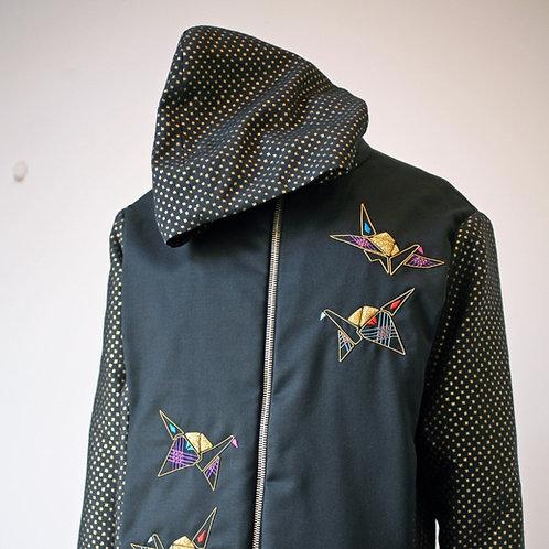 Origami Crane Jacket