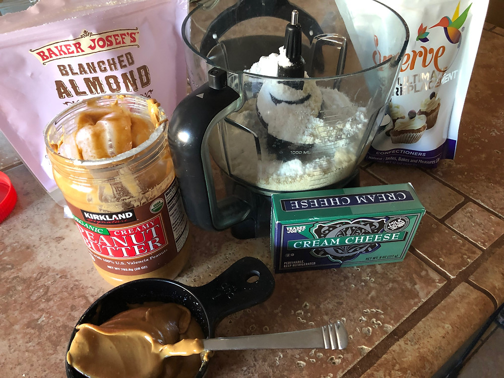 sugar free low carb keto peanut butter buckeyes