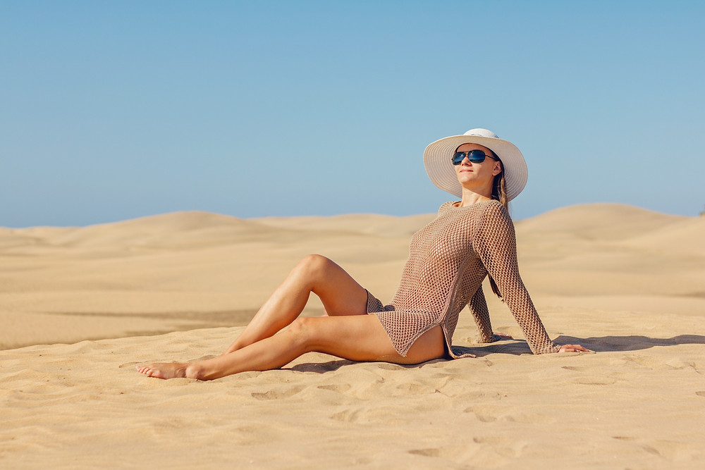 summer sun skin protection hat coverup