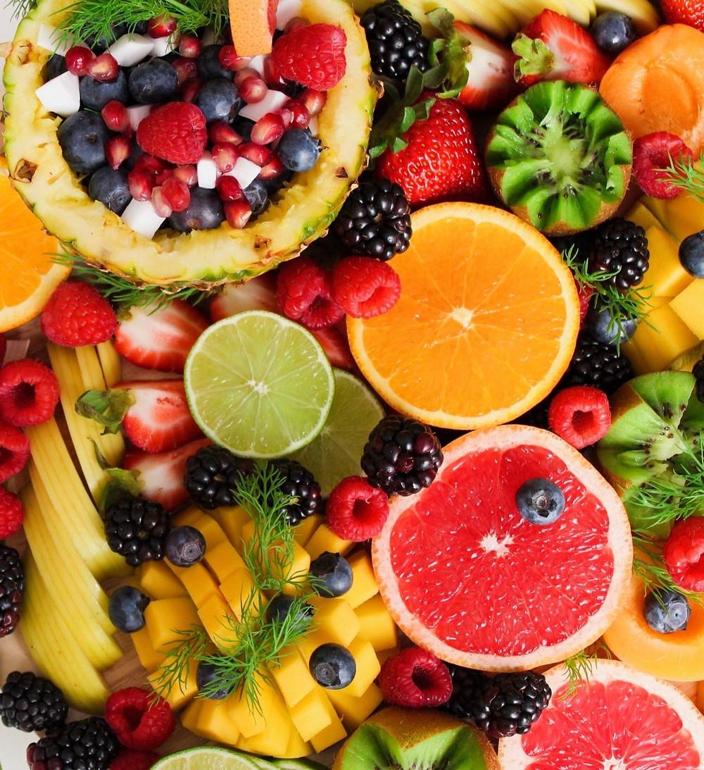 citrus fruits, berries, vitamin c foods
