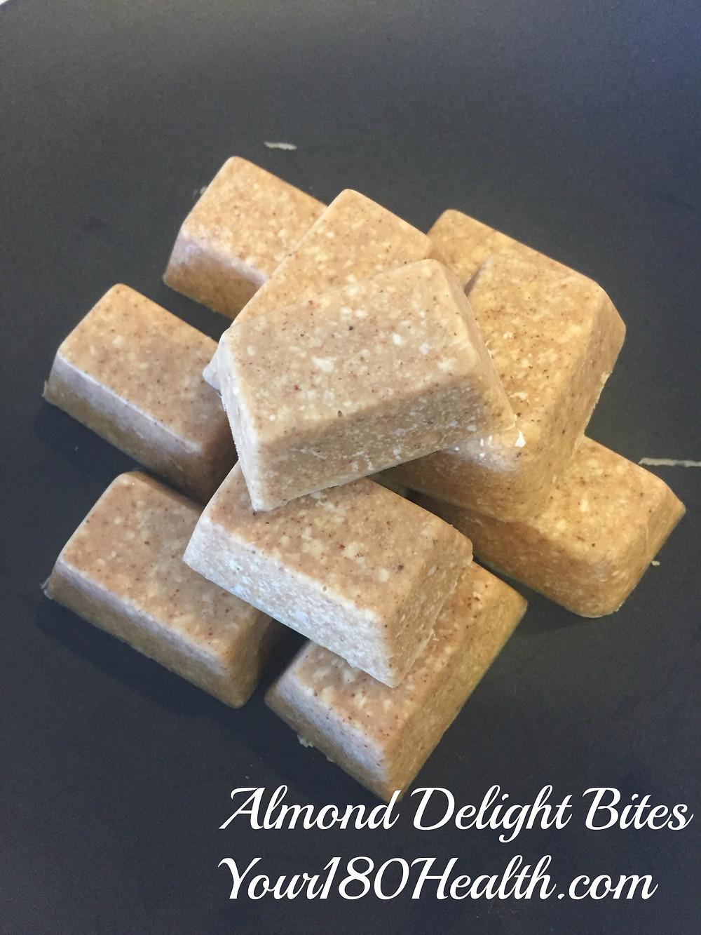keto coconut almond butter cinnamon fat bombs snacks easy ice cube tray