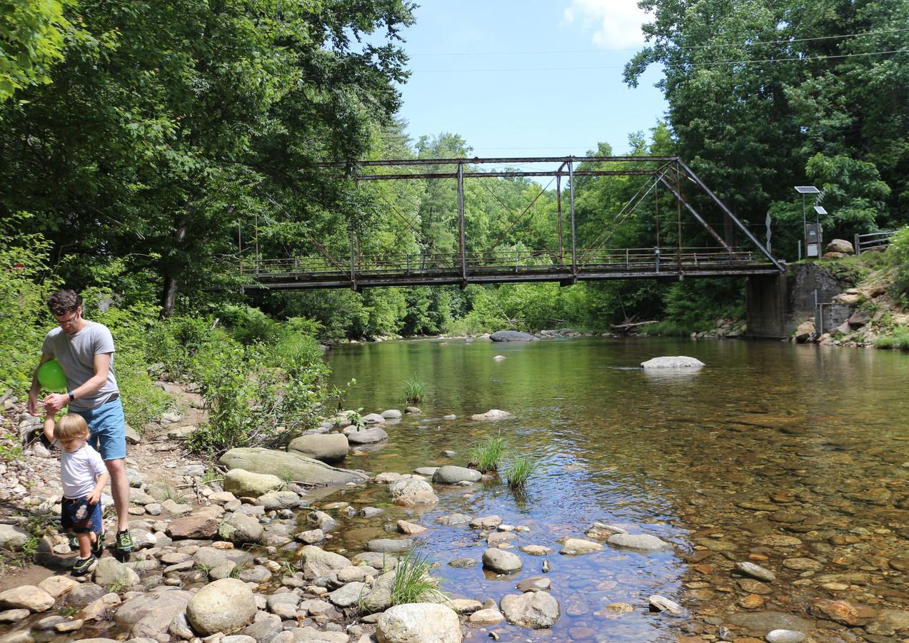 A Riverside Walk Near the Steel Bridge