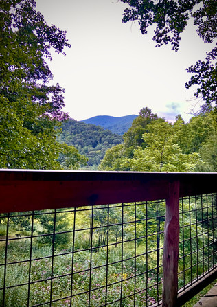 Summer View from the Porch of Celesterra