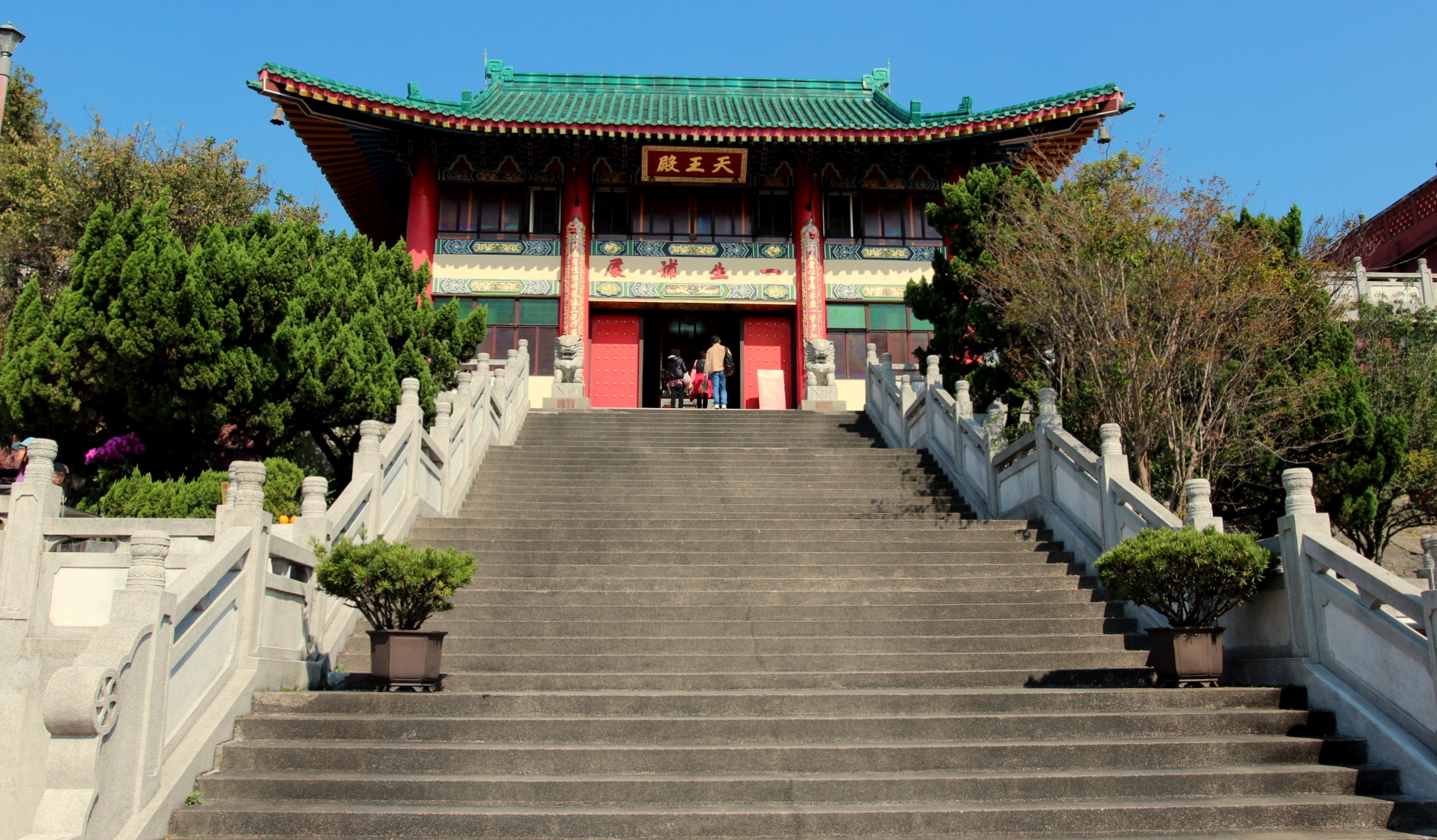 Stairs Up to the Temple