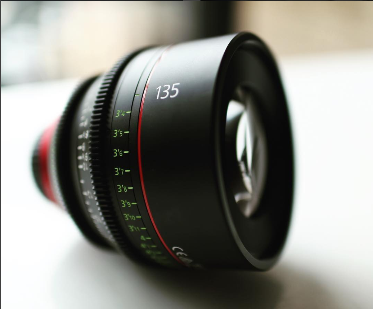 Canon Lens Product Photo