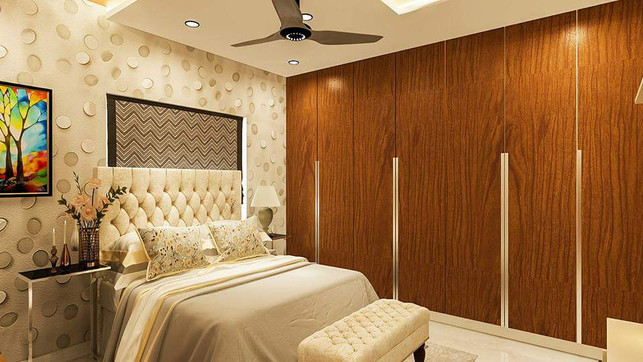 best bedroom project by interior ikon in