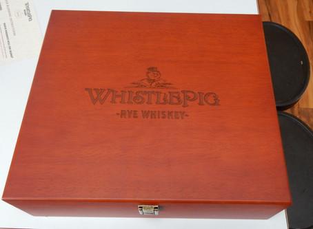 Whistlepig Rye Blending Challenge, day 1.