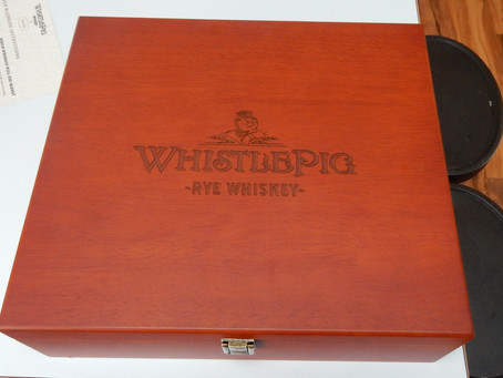 Whistlepig Rye Blending Challenge, day 1.