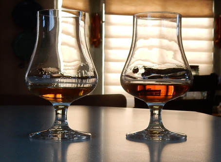 Dry Fly Triticale, regular vs. single barrel tasting and some exciting news.