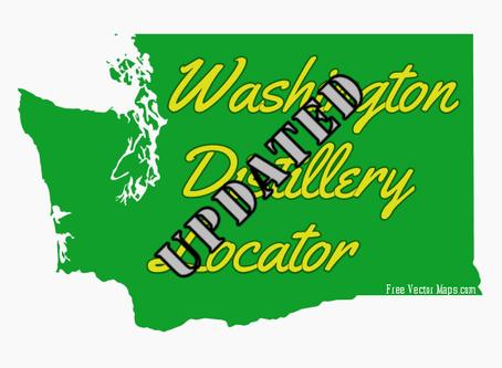 New updates to the Washington Distillery Locator.
