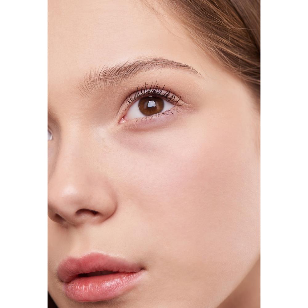 Girl's face with minimal makeup