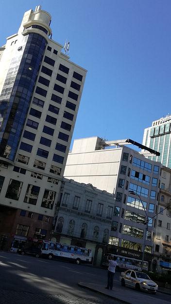 Edificios de la zona Plaza Independencia de Montevideo
